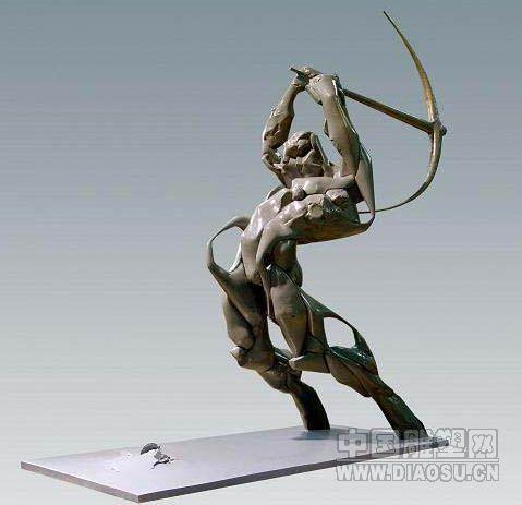 """""""韩国著名雕塑家金善球作品展"""