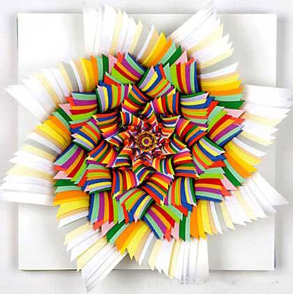 stark纸雕塑立体作品