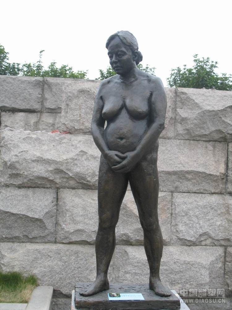 雕塑女人雕像女人体照片