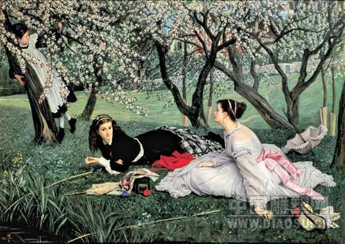 19世纪绘画精品展 品味欧式古典与唯美
