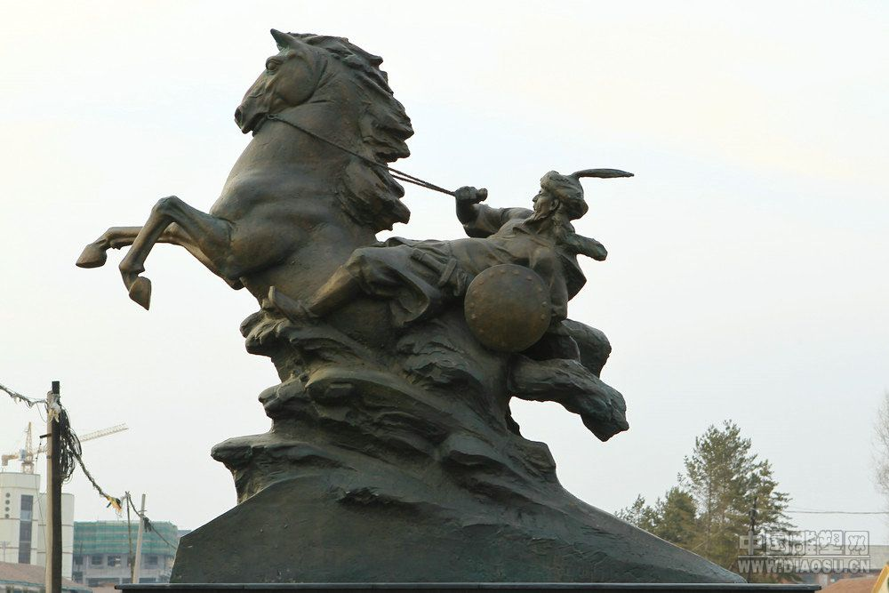 塑说长白山 - 中国当代雕塑作品 - h_x_y_123456 - 何晓昱的艺术博客