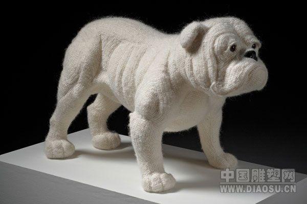 的针织动物雕塑(组图)