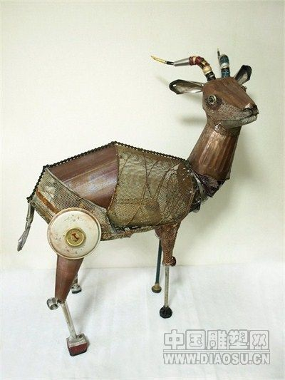 制作小动物雕塑