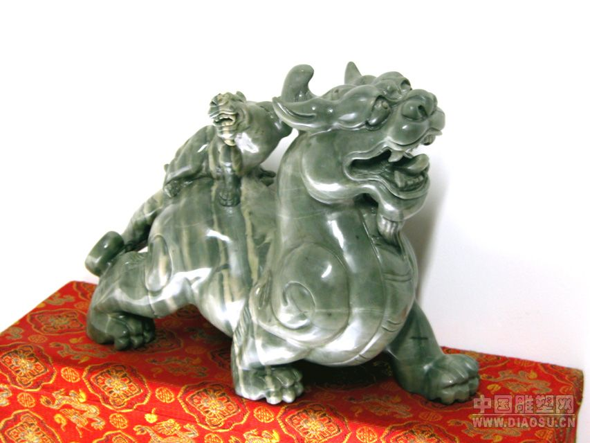 《貔貅》--醉石轩壶艺雕刻园