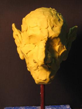 人物雕塑(手办油泥)创作步骤实例教案