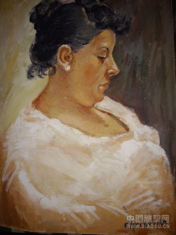 初学油画临摹哪些作品