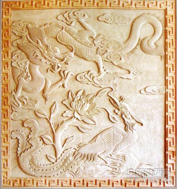 中式砂岩浮雕贴图/中式砂岩浮雕背景墙/中式砂岩浮雕
