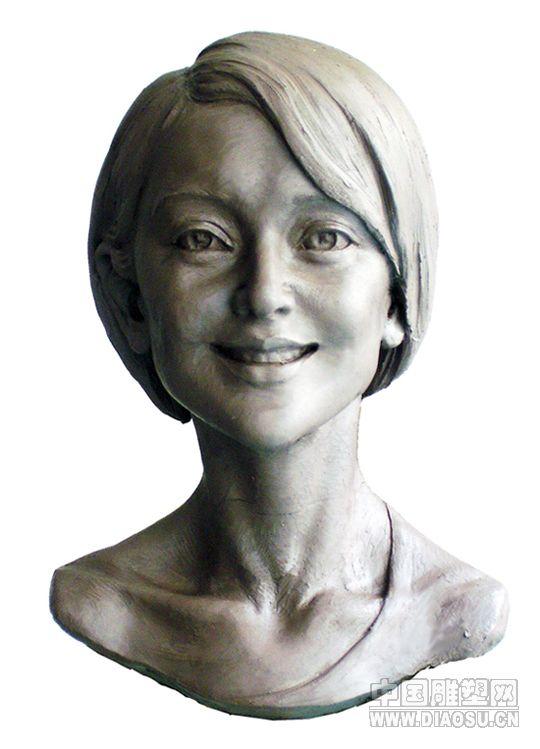 素描雕塑头像 步骤