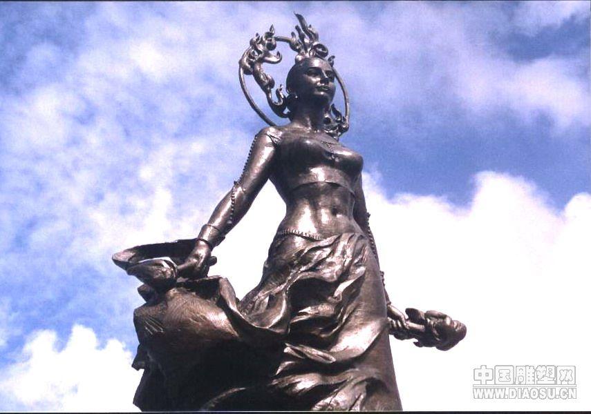 美国关岛国际机场《生命女神》