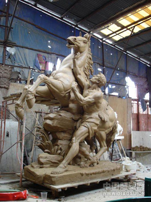 山东塑美雕塑有限公司供应玻璃钢人物雕塑图片