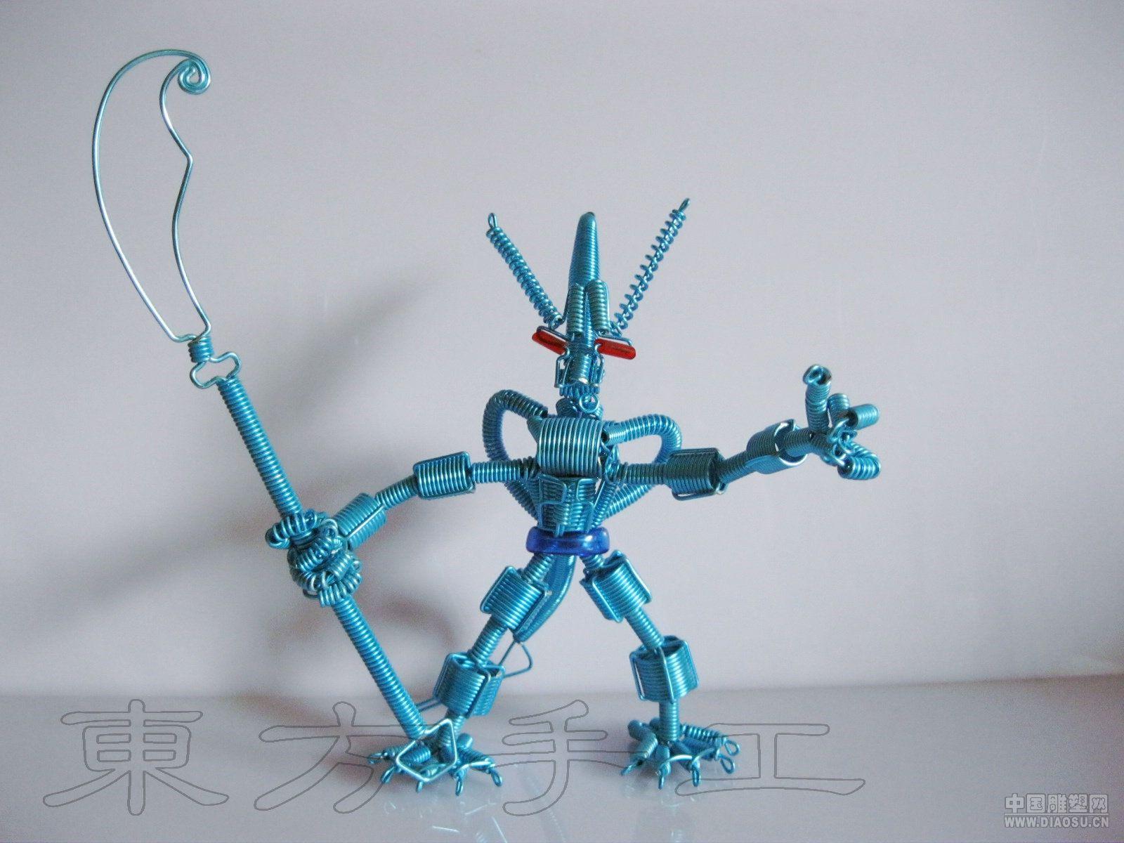铝丝编手工艺品-中号异形机